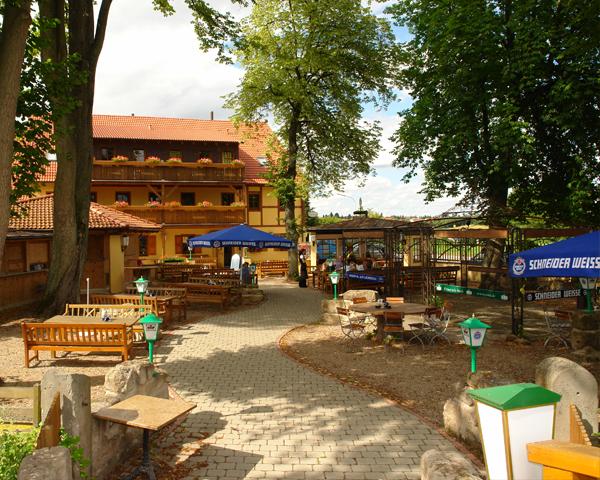 Idyllischer Biergarten Gasthof Schonau 91560 Heilsbronn Zwischen Ansbach Und Nurnberg